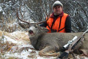 Deer hunting in Montana