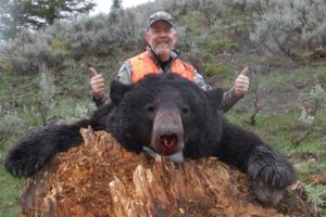 Spring Black Bear hunting